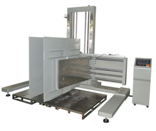 Carton Box Paper Testing Equipment / Clamp Force Tester For Transport