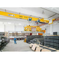12.5 Ton EKKE Single Girder Overhead Crane