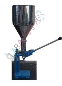 Collapsible Tube Filling Machine Labappara