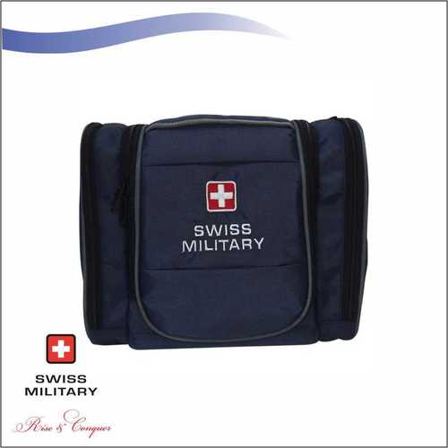 Swiss Military Multiple Pockets Including Wet Pocket + Quick Access Pocket With Carrying Handle Blue (TB3)