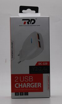RD DC320 Dual Usb 2.4A mobile Charger