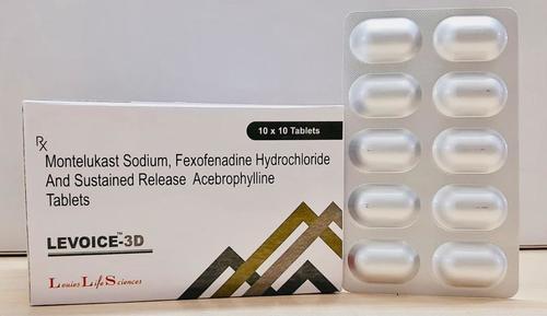 Montelukast Fexofenadine Acebrophylline Tablet