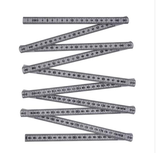 JC3004 Plastic Folding Ruler