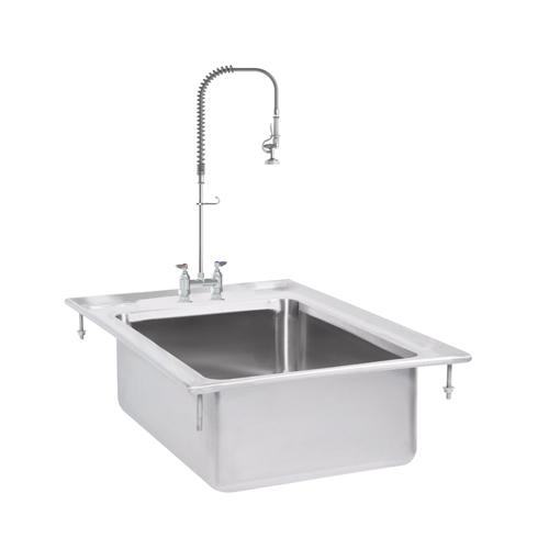 Stainless Steel Drop-in Sink Set