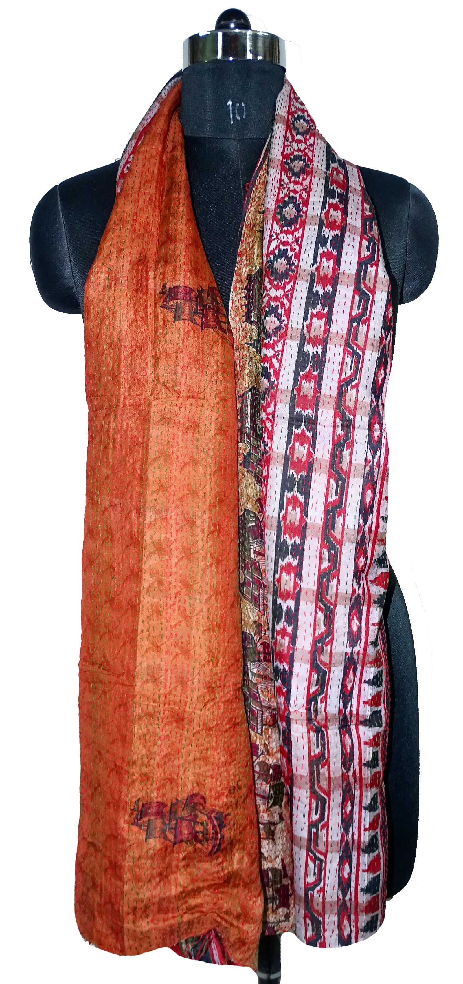 Silk Kantha Allover Scarves