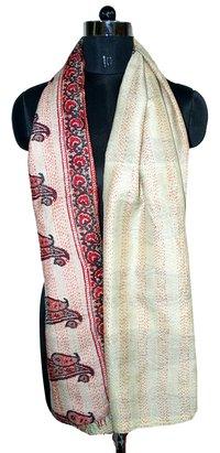 Silk Kantha Allover Scarves
