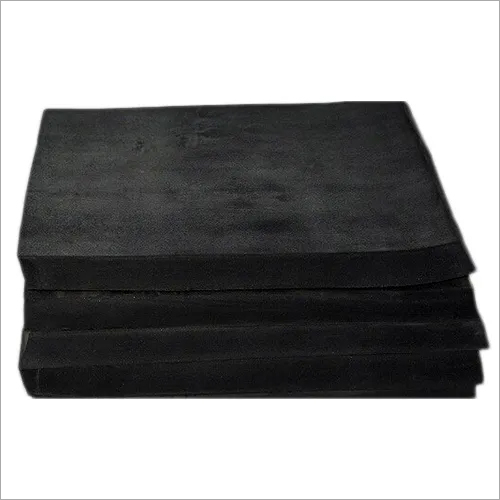 Black Butyl Rubber Sheet