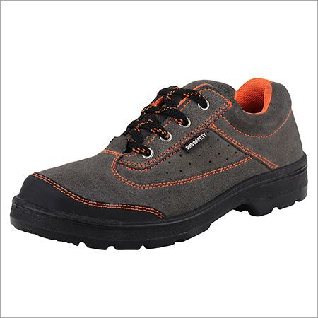 Leather Safety Suede Shoes