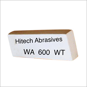 White Abrasives Stone