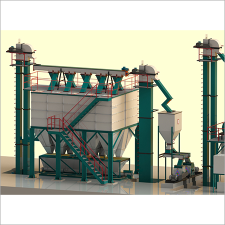 10 Tons/hr-12 Tons/hr Standard Feed mill Plant