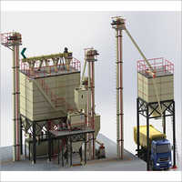 12 Tons\hr-15 Tons\hr Standard Feed mill Plant