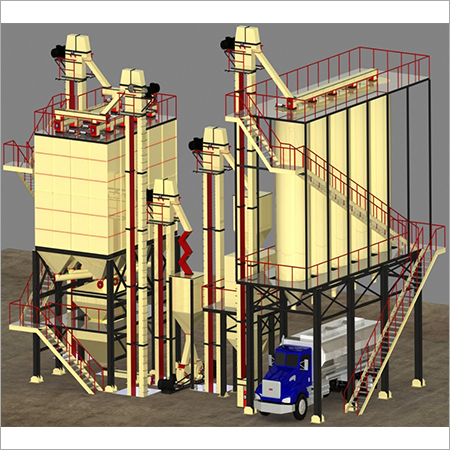 25 Tons\hr-30 Tons\hr Fully Automated Feed Mill Plant