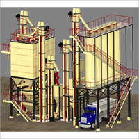 FULLY AUTOMATED FEED MILL PLANT.