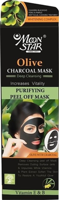 Moonstar Olive Charcoal Peel Off Mask