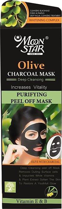 Moonstar Olive Charcoal Peel Off Mask