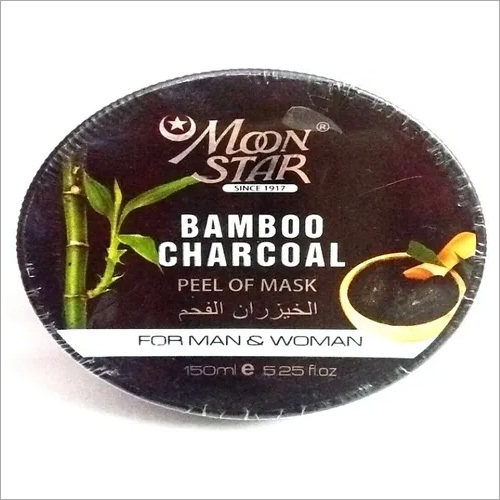 Moonstar Bamboo Charcoal Peal Off Mask
