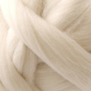 White Nylon Roving Fiber Top