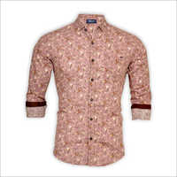 Mens Slim Fit Printed Shirt