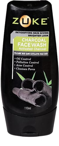 Zuke Activated CharCoal Face Wash