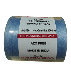 2 Ply 2000 Mtr Spun Polyester Thread