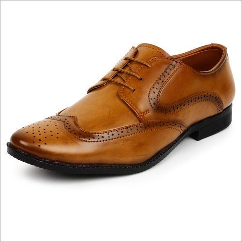 Brown Men Formal Brogue Shoe