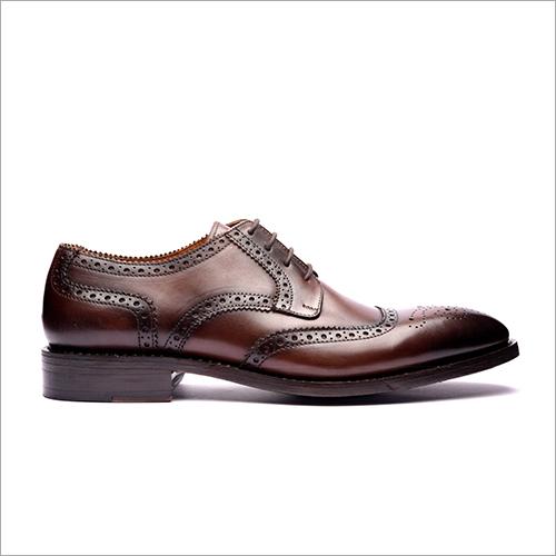 Cherry U Tip Derby Shoe