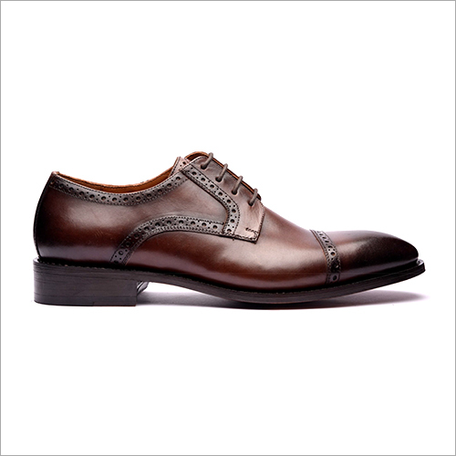 Cap Toe Derby Shoe