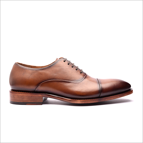 Cap Toe Oxford Stitch and Turn Shoe
