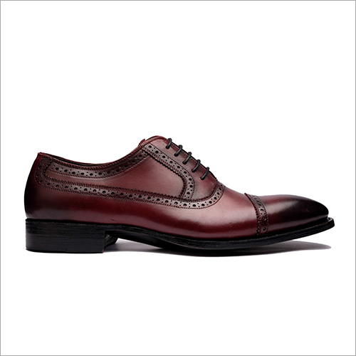 Cap Toe Balmoral Oxford Shoes