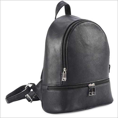 Ladies Black Backpack Bag