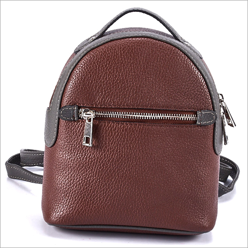 Ladies Brown Backpack
