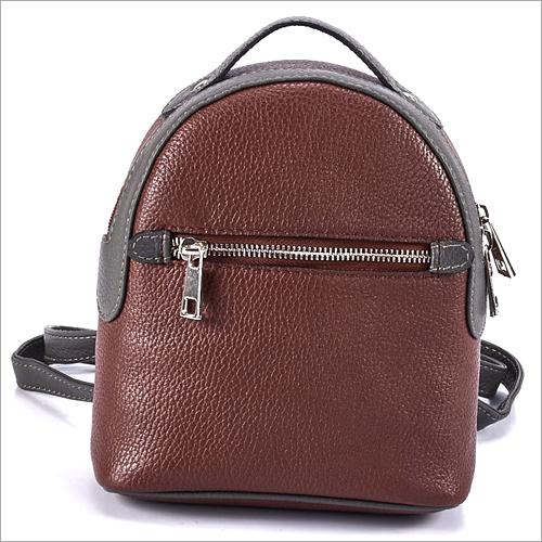 Ladies Brown Backpack