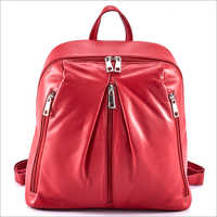 Ladies Calf Nappa Backpack