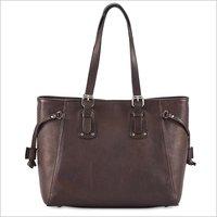 Ladies Brown Hand Bag
