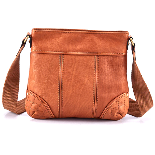 Ladies Leather Messenger Bag