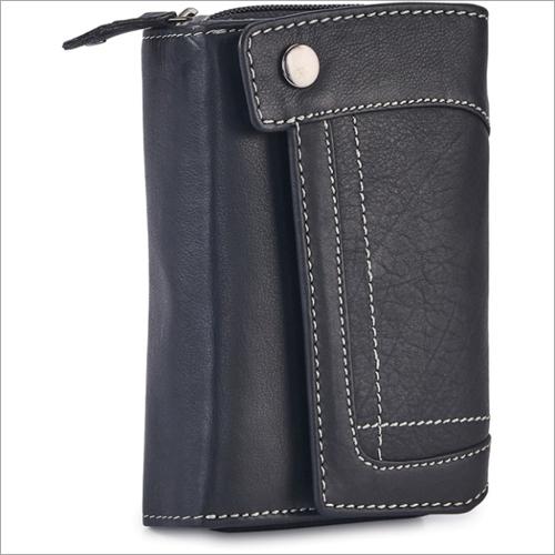 Ladies Black Bifold Wallet