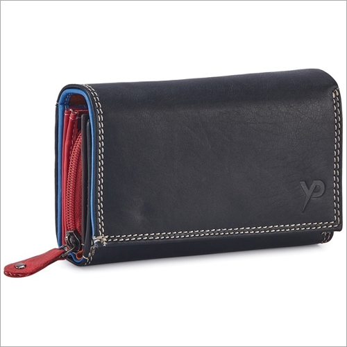 Ladies Black Hand Wallet