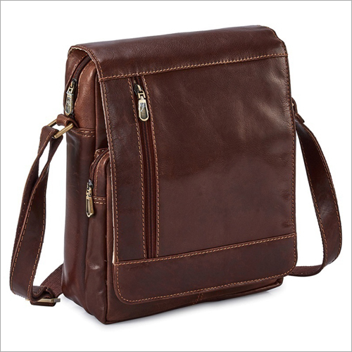 Mens Leather Side Bag