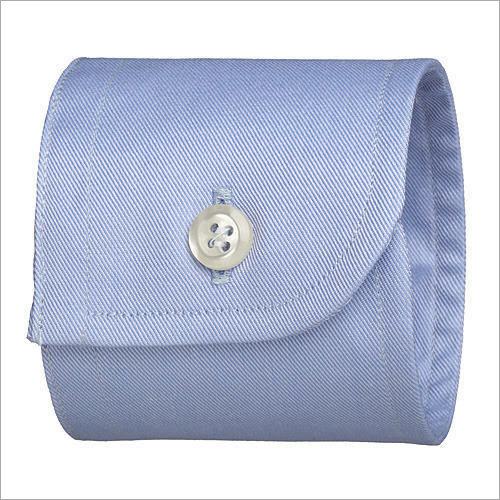 Round Single Button Cuff