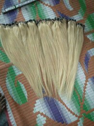 Blonde Straight Hair Extension