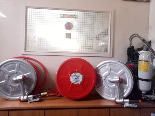 Hose Reel and Cabinet