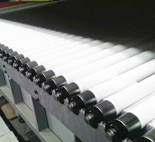 Fused Silica Ceramic Roller Used In Glass Deep Processing Furnace