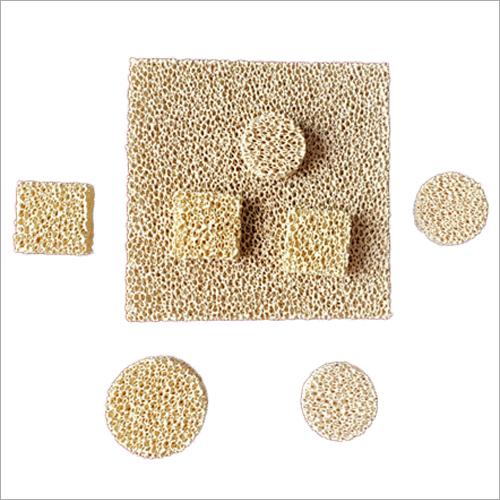 High Porosity Zirconia Foam Foundry Filter