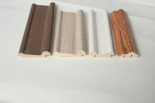 Wood Design Waterproof Decorative Polystyrene baseboard mouldings