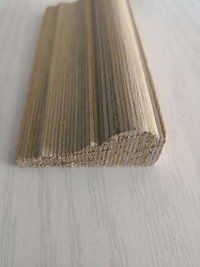 Solid Oak Wood Building Decoration Raw Wood Material Wood Skirting Baseboard Moulding