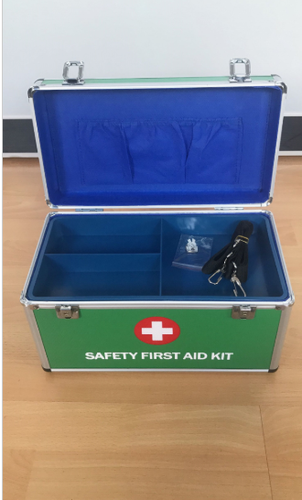 Aluminum Alloy First Aid Box for Drug Stroge/Household Emergency Box(Keli – 1222)