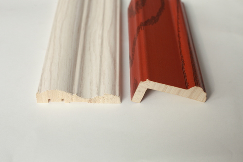 Solid wooden skirting baseboard / solid wood moulding