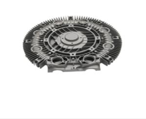 Aluminum blower cover parts