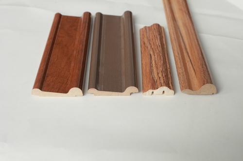 PVC flat wood primed decorative moulding