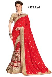 Designer Saree Stone Work
